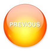 Previous button icon — Stock Vector