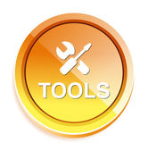Tools web icon — Stock Vector