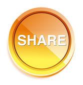 Share web icon — Stock Vector