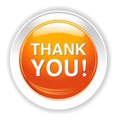 Thank you icon — Stock Vector