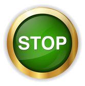 Stop wet icon — Stock Vector