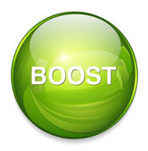 Boost web icon — Stock Vector