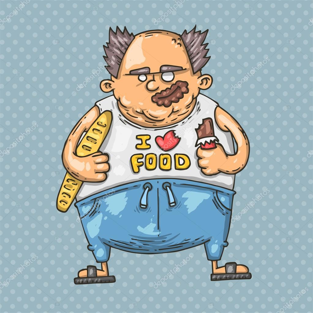 culo gordo dibujos animados