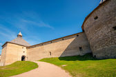 Ancient fortress in Staraya Ladoga — Stock Photo
