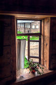 Window Of Old House — Stock Photo