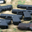Set of different guns — Stock Photo #55805203