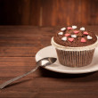 Delicious tasty cupcake — Stock Photo #61914785