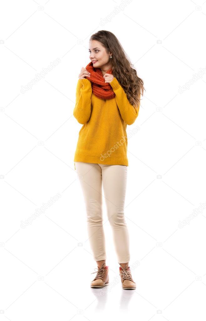 Девочка в осенней одежде картинки