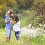 Family having fun in nature — Stock Photo #53552203