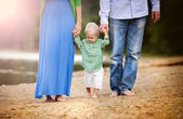 Family spending summer time together — Stock Photo
