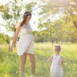 Mother with daughter having fun — Stock Photo #56452699