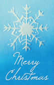 Christmas handmade card — ストック写真