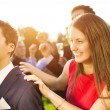 Wedding guests dancing and having fun — Stock Photo #62139469