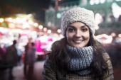 街の女 — ストック写真
