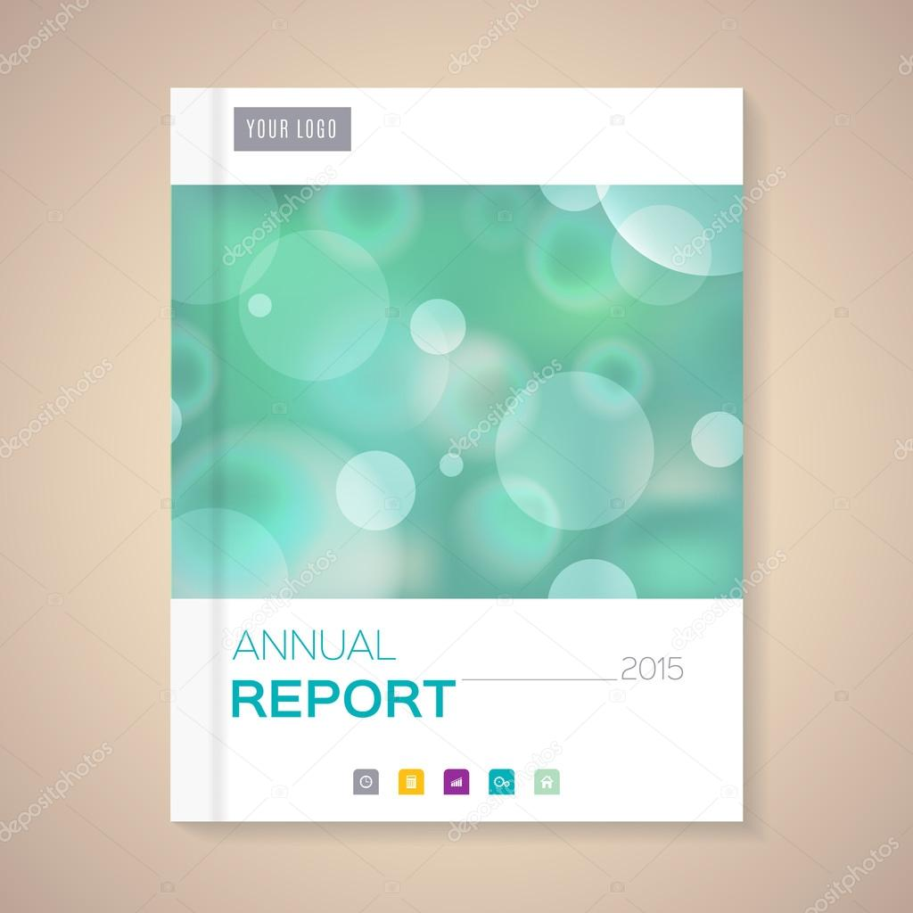 annual report cover template stock vector copy halfpoint  annual report cover template 2015 business brochure vector illustration vector by halfpoint