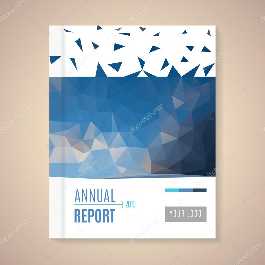 annual report cover template stock vector copy halfpoint  annual report cover template stock illustration