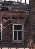 Casa de madeira velha — Fotografia Stock