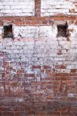 Old brick wall of the house. — Stock Photo