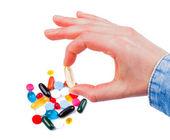 Colorful pills — Стоковое фото