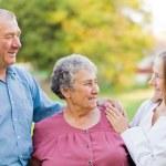 Elderly care — Stock Photo #52967259