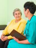 Home care — Stock Photo