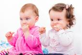 Adorable babies — Stock Photo