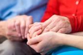 Helping hands — Foto de Stock