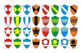 Clan symbol - shield symbol — Stock Vector
