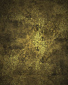 Grunge dark golden cracked texture — Stock Photo