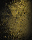Grunge abstract background old gold texture on a black background — Stock Photo
