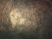 Metal surface with scratches and dents. — Stock Photo