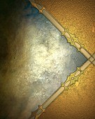 Grunge background with gold angles — Stockfoto