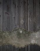 Wooden texture with space for writing. Template Design. — Стоковое фото
