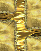 Element for design. Template for design. golden background with gold inserts — Stock Photo