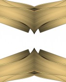 Abstract background for design Golden gothic frame. Element for design. Template for design. — Stock Photo