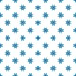 Bright blue star pattern seamless abstract background — Stock Photo #54855463