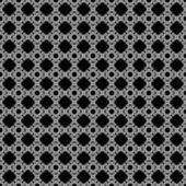Seamless Black & White Abstract Pattern — Stock Photo
