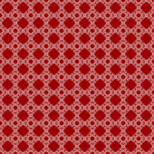 Seamless red & white abstract pattern — Stock Photo