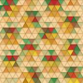Background of triangles — Stock Vector
