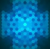 šestiúhelníky pozadí — Stock vektor
