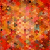 Abstract seamless background of hexagons — Stok Vektör