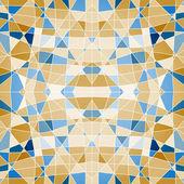Seamless geometric pattern mosaic — Stock Vector