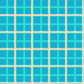 Seamless geometric pattern of tiles — Stock Vector
