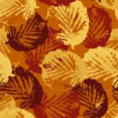 Seamless pattern texture with leaves — Stock Vector