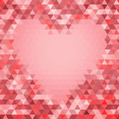 Abstract seamless background with heart — 图库矢量图片