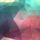 Colorful background of triangles. — Vettoriale Stock