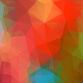 Colores de fondo de triángulos. — Vector de stock