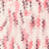 Seamless geometric background pattern of triangles — Stock Vector