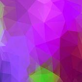Achtergrond van driehoeken — Stockvector