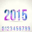 Set of numbers for new year — Stock Vector #58861045